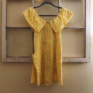 Yellow Forever 21 dress